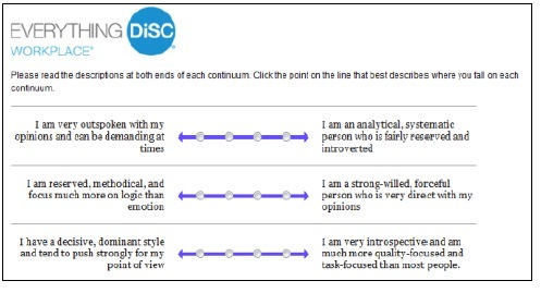 Everything DiSC Profile Tie Breaker Questions