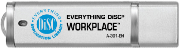 Everything DiSC Workplace Training Kit USB Drive.