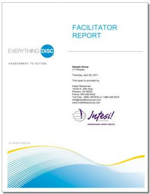 Everything DiSC® Facilitator Report (Online)