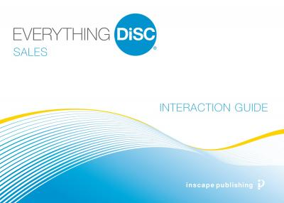 Everything DiSC® Sales Customer Interaction Guides (25 Cards)